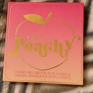 Just peachy make up Palette - good colors - NEW!